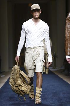Balmain Menswear Spring Summer 2016 Paris - NOWFASHION