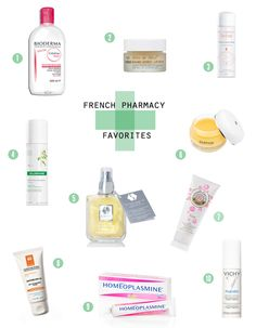 French pharmacy favorites