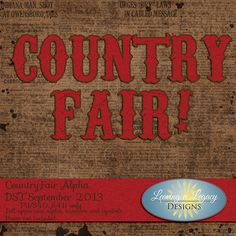 Country Fair…DST Blog Train.....Love this alpha!