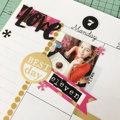Look at how fun & cute those little #TheHappyPlanner spaces can be! I love memory planning sweet moments like this each day. SO much FUN! @the_happy_planner