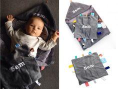 Wikkeldeken met naam | geborduurd op mooie deken van snoozebaby | ZOOK.nl