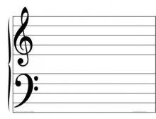musical staff pdf