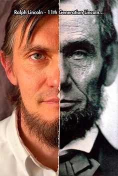 The Face Of History :: Ralph Lincoln, an 11th generation Lincoln.