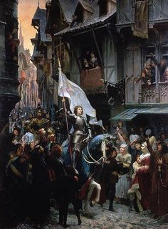 """Read """"Joan of Arc In Medieval France"""" by Robert Grey Reynolds Jr available from Rakuten Kobo. Joan of Arc came to prominence in the decade after France suffered a crucial defeat to the English at the Battle of Agin. Joan D Arc, Saint Joan Of Arc, St Joan, Catholic Art, Catholic Saints, Religious Art, Jeanne D'arc, Art Occidental, Classic Paintings"""