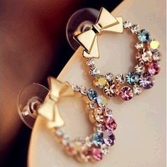 2014 Fashionable Designs Of Earrings For Women And Teenage Girls ...  └▶ └▶ http://www.jewelsglobe.com/?p=9491
