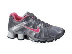 Wmns Nike Shox Roadster 12 Black Peach Pink Silver