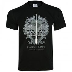 Game of Thrones Ice Sword T-Shirt [Black]