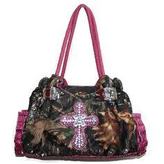 camo & pink purse <3