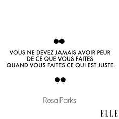 Positive Mind, Positive Attitude, Positive Quotes, Rosa Parks, Best Inspirational Quotes, Motivational Quotes, French Quotes, Quotes For Kids, Meaningful Quotes