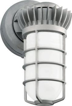 RAB VXBRLED13DG Vapor Proof LED Outdoor Sconce by RAB. $138.50. All brass hardware. Close up plugs allow slotted or phillips screws for easy installation.