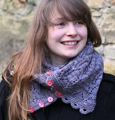 Ravelry: Gothic Lace Cowl by tincanknits