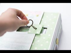 (34) A box for your photo album (tutorial)/Коробочка для фото альбома(мк) - YouTube