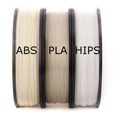 There are many materials that are being explored for 3D Printing, however you will find that the two dominant plastics are ABS and PLA. Here is where the two plastics divide and will help to explain why different groups prefer one over the other.