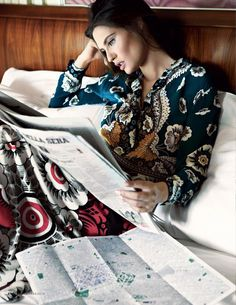 myfashion_diary: Elle Italia March 2015