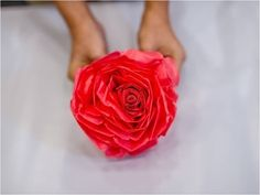 How to make WE LOVE SG FLOWERS? (Large size used plastic bag) - YouTube