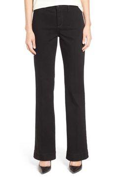 NYDJ 'Teresa' Wide Leg Trouser Jeans (Bloomsbury) (Regular & Petite)