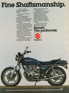 1979 Suzuki GS-850. Shoot, my 2010 M50 doesn't have some of these features.