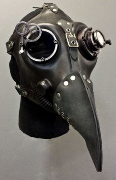 Gas Mask – Plague – Black - New ideas Steampunk Gas Mask, Art Steampunk, Steampunk Clothing, Steampunk Makeup, Steampunk Drawing, Steampunk Bedroom, Steampunk Furniture, Steampunk Crafts, Steampunk Gadgets