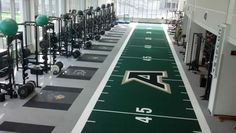 Bill Jacobs Power Company featuring Infinity Flooring, Jump Stretch Bands, Iron Grip Barbells & Rae Crowther Football Equipment