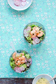 Shrimp & Quinoa Salad / Michael Matthew