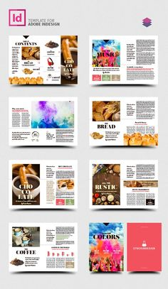 Colors Magazine Template The Effective Pictures We Offer You About travel design logo A quality pict Magazine Design Inspiration, Magazine Layout Design, Graphic Design Inspiration, Page Layout Design, Book Layout, Design Design, Web Layout, Minimal Web Design, Editorial Layout