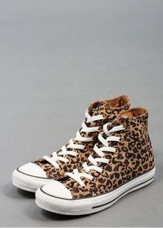 Chuck Taylor Hi Cheetah by Converse @Luvocracy