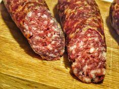 Rohpolnische - selber Wursten ist grandios - Altmark BBQ Raw Polish - sausage itself is terrific - A Barbacoa, Baked Meat Recipes, Sausage Recipes, Pizza Hut, Bbq Grill, Grilling, Asian Bbq, Minced Meat Recipe, Bbq Pitmasters