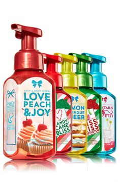 Bath and Body Works Be Merry Be Bright Hand Soaps