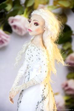Коллекционные куклы ручной работы. КрИсталл. Марина Владимирова. Ярмарка Мастеров. Авторская кукла, запекаемый пластик, кукла из пластка Disney Princess, Disney Characters, Disney Princesses