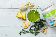 kale and match green tea smoothie