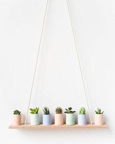 LOOKS WE LOVE  Pastel planters! . #minimalistdecor #concrete #decor #home #sydney #concretehomewares #handmade #decoration #interiordesign #concretedecor #concreteplanter #concretedesign
