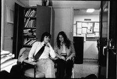 Annie Leibovitz and Jann S. Wenner