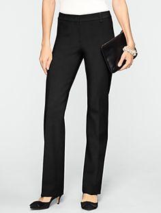 Talbots - Signature Ultimate Double-Weave Straight-Leg Pants | Pants | Misses