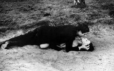 Jeanne Moreau and Marcello Mastroianni in La notte directed by Michelangelo Antonioni, 1961