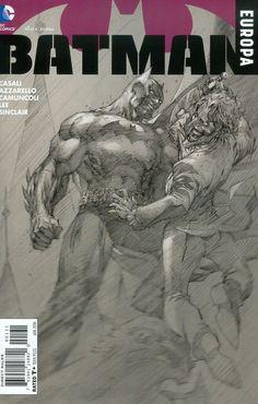 Batman Europa #1 Cover C Incentive Jim Lee Sketch Cover