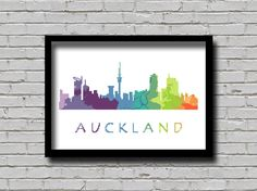 Cross Stitch Pattern Auckland City New by ZGCROSSSTITCHPATTERN