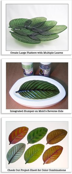 Glass Fusing leaf mold