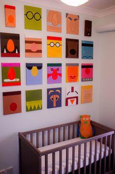 Muppet nursery.