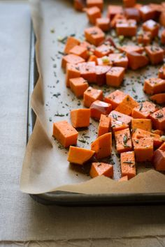 rosemary + garlic roasted broccoli and sweet potatoes — Edible Perspective