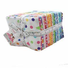 "Confetti AB 40 Fat Quarter Bundle 18"" x 21"" 22320AB - Moda Cotton Fabric FQ876"