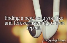 Until you hate it and never want to hear it again.. #vivalavida #justgirlythings