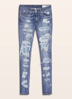 375 Best Destroyed Jeans images in 2019  5d1f8090522e