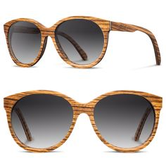 0a00ad4c619 Shwood Eyewear  Shwood Madison - Womens Wood Sunglasses - Designer Wooden  Sunglasses