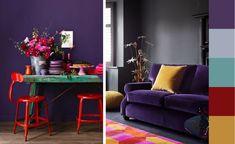 El Ultra Violet ha sido elegido por el Instituto Pantone como color del año 2018. Este tono intenso y atrevido está dispuesto a llenar de color nuestro hogares durante una larga temporada.