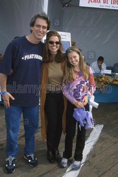 Bobby Shriver with his sister Maria and his niece Katherine Schwarzenegger