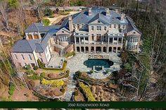 $5.15 Million Brick Regency Mansion In Atlanta, GA-L