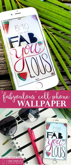 Lovely gift: wallpaper for an art project look for your phone.