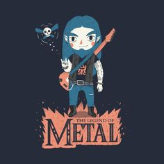 The Legend of Metal by paulagarcia