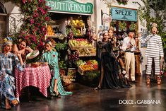 Dolce & Gabbana Campaign shot by Domenico Dolce Dolce & Gabbana, Fashion Advertising, Advertising Campaign, Runway Magazine, Italian Lifestyle, Summer Campaign, Foto Real, Italian Fashion, Spring Summer 2016