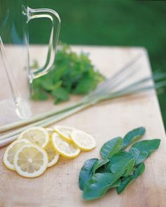 Lemonade for an outdoor party